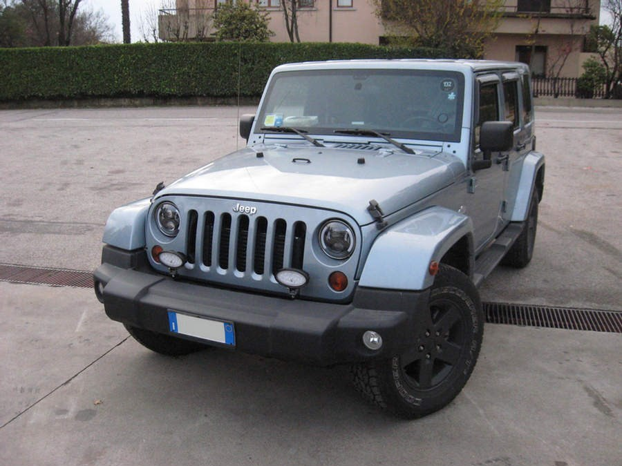Jeep Wrangler JK - Full-Led 7 Inch Black 1