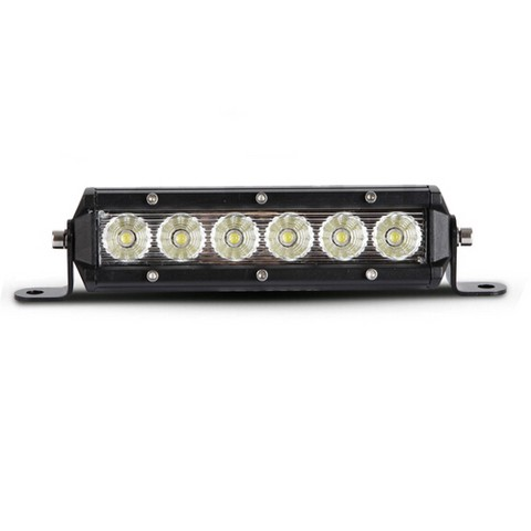 Barra LED Singola Off-Road 30W 1