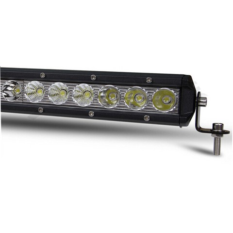Barra LED Singola Off-Road 30W 2